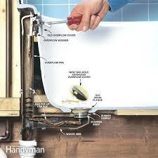 how to convert bathtub drain lever a lift and turn parts diagram view all trip lever bath drain bathtub