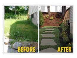 Small Picture Garden Design Garden Design with Atlanta Landscaping Before and
