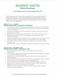 Mobile Developer Resume Samples QwikResume Magnificent Ios Developer Resume