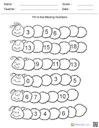 Kindergarten Math Worksheets Free Worksheets for all | Download ...
