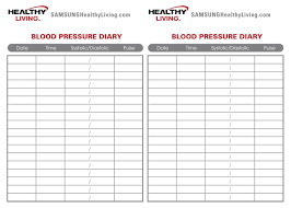 Charts Of Blood Pressure Blood Pressure Monitor Sheet Under Fontanacountryinn Com