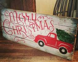 pallet painting ideas christmas. but love the style painted with grey and chalkboard white. red lettering over faux pallet sign. | pinterest chalkboards, palle\u2026 painting ideas christmas s