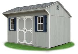 standard cottage storage shed