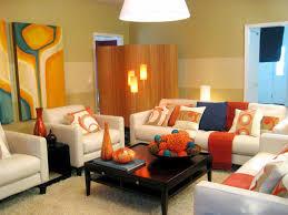 Orange Curtains For Living Room Living Rooms 9 Futuristic Small Living Room Design With Comfy