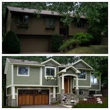 Modern Exterior Design Ideas Curb Appeal - Split level exterior remodel
