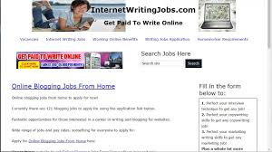 online blogging jobs from home   online blogging jobs from home