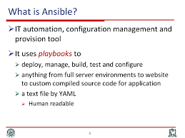 Introduction To Ansible Ppt Download