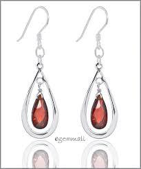 sterling silver drop dangle chandelier earrings w cz