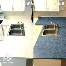 refinishing kit home depot granite paint countertop rustoleum white
