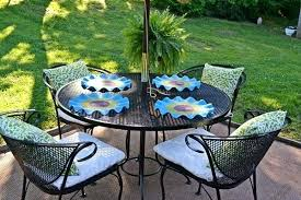 amazing outdoor patio table placemats picture design