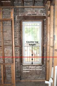 Kitchen Windows Masonry And Windows Part 3 Reshaping Our Footprint