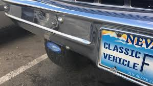 are drivers getting a sweet deal with nevada s clic vehicle license plates krnv