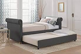 dhp sophia upholstered daybed sofa bed