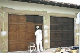 repaint garage door faux garage doors painted garage doors to look like wood