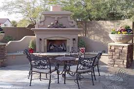 Plain Ideas Outside Fireplaces Marvelous Outdoor Fireplaces Arizona Fireplaces