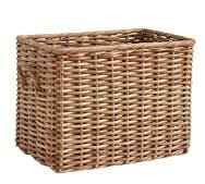 aubrey woven oversized rectangle basket
