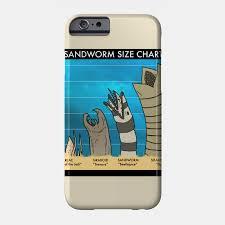 Sandworm Size Chart Sandworm Size Chart T Shirt