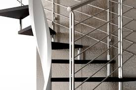... Helical staircase / wooden steps / without risers / contemporary E20-Q-GLE  d ...