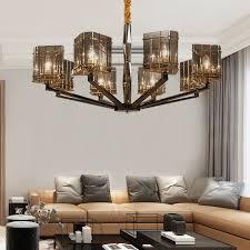 contemporary large big glass modern ceiling chandeliers pendant lamp lighting for art decoration zhongshan henglan falanxisi lighting factory 阿拉丁商城