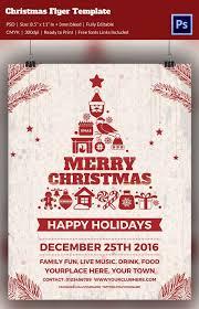 Holiday Flyers Templates Free 88 Christmas Flyer Templates Psd Ai Illustrator Word
