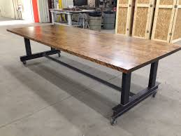 custom made the glenn industrial conference table