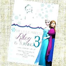 Birthday Invite Templates Free To Download Awesome Frozen Party Invitation Love It Frozen Printable Birthday Invitation
