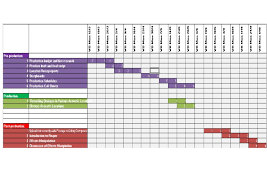 Film Production Calendar Template Film Production Schedule By Charlotte Bracken