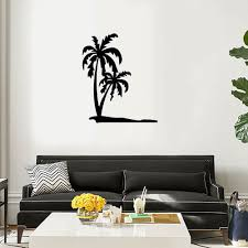 palm trees wall art decal sticker