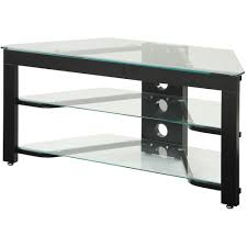 convenience concepts designsgo wood and glass tv stand for tvs up