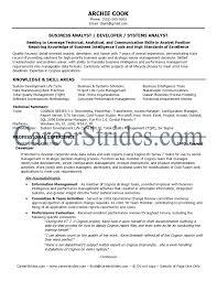 It Business Analyst Resume Samples Resume Peppapp