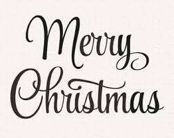 merry christmas black and white script. Simple White For Merry Christmas Black And White Script C