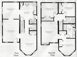 4 bedroom floor plan. 19 Best Of 2 Story 4 Bedroom Floor Plans New Plan