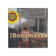 <b>Joe Bonamassa</b> - <b>So</b>, It's Like That (CD) : Target