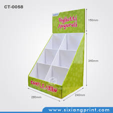 Free Standing Shop Display Units Cool Free Standing Retail Pos Display Case Cardboard Countertop Display