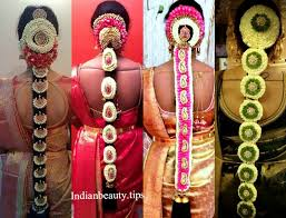 south indian pelli poola jadalu the overall south indian bridal make over looks inplete without this flattering hairstyle