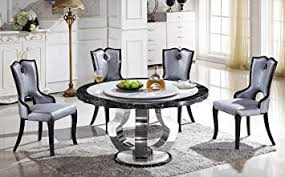 dining table set with lazy susan. round marble dining table with lazy susan t-6316 (table only) set o