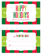 gift Tags - Cost More At Minted.com