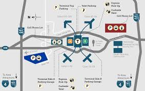 official parking map for mco