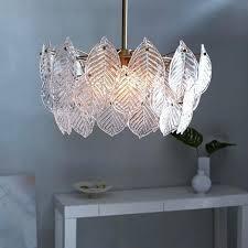 chandelier west elm glass leaf chandelier pendant elm west elm capiz chandelier grey
