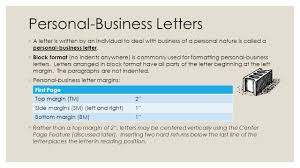 LEARN TO FORMAT PERSONAL-BUSINESS LETTERS Unit 9: Lessons ppt download