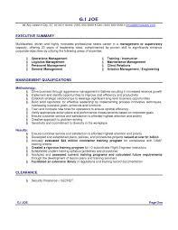 Executive Summary Templates A Good Resume Outline Best Sample Executive Summary Resume Resume 8