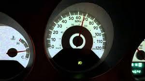 2008 Dodge Avenger Instrument Panel Lights 2008 Dodge Avenger Tpms Security Warning Lights Youtube