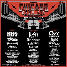 FESTIVAL REVIEW: CHICAGO OPEN AIR 2017 Live at Toyota Park Stadium ...