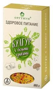 <b>Оргтиум</b> Булгур Здоровое <b>Питание</b> с белыми грибами 180 г ...