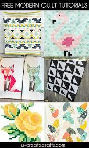 Free Modern Quilt Patterns - U Create & Free Modern Quilt Patterns at U Create Adamdwight.com