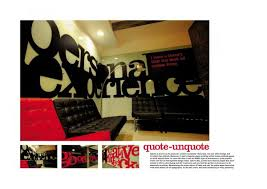 print ad by ogilvy mather new delhi advertising agency office design