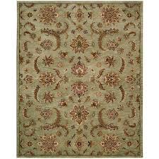 nourison india house light green 8 ft x 11 ft area rug