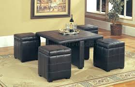 coffee table ottoman storage ottoman with built in tray fabric ottoman with tray oversized square ottoman