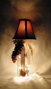beautiful hand made tuscan style wine bottle table lamp d save even