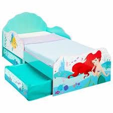 Contenitori sottoletto ,salvaspazio per biancheria da. Disney Principesse Ariel Lettino Per Bambini Con Contenitore Sottoletto Acquisti Online Su Ebay